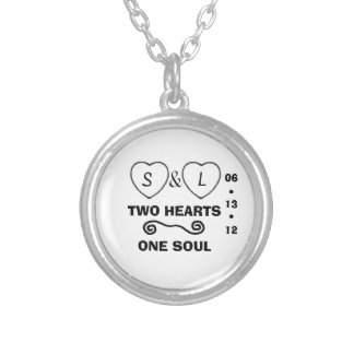 two hearts one soul add date necklace