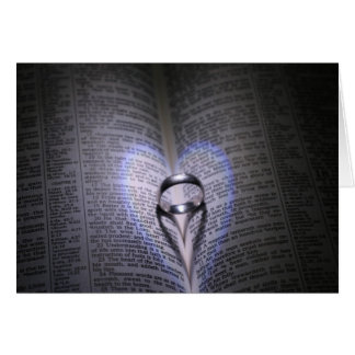 Two Hearts Out Of Darkness Greeting Card