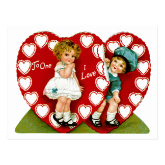 Two Hearts Postcard
