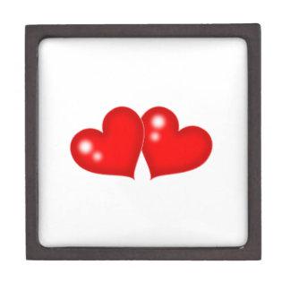 Two Hearts Premium Keepsake Box