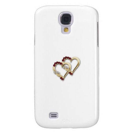 Two-Hearts Samsung Galaxy S4 Cover