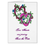 Two Hearts: Save the Date Greeting Cards