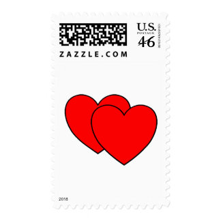 Two Hearts Stamp