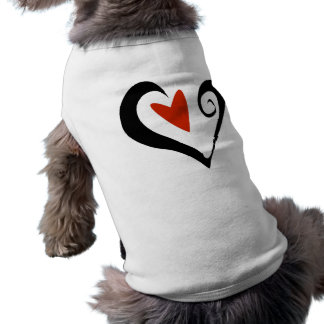 Two Hearts that Beat as One Pet T-shirt
