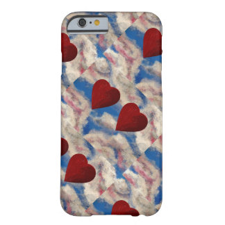 TWO HEARTS THAT BEAT AS ONE (red heart design) ~ Barely There iPhone 6 Case