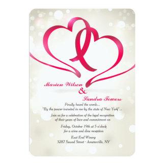 Two Hearts United Invitation