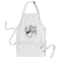 Two Hearts Wedding Apron
