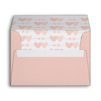 Two Hearts Wedding Envelope