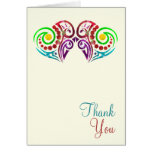 Two Hearts Wedding Greeting Card