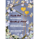 Two Hearts Wedding Save the Date Invitations invitation