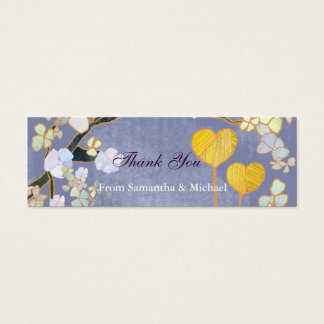 Two Hearts: Wedding Thank-You Gift Tags