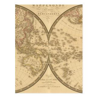 Two Hemispheres Postcard