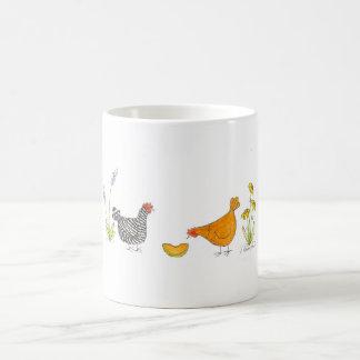 Two Hens and A Cantaloupe Coffee Mug