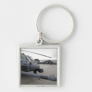Two HH-60G Pave Hawks Keychain