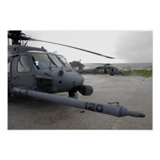 Two HH-60G Pave Hawks Posters