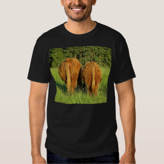 Two Highland Cattle Rears in Upper Austria T-shirt