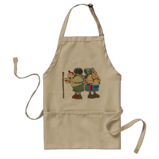 Two Hikers Apron