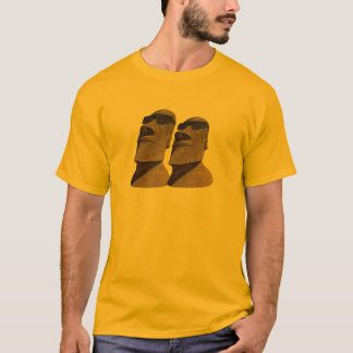 Two Hip Moai - Light Apparel T-Shirt
