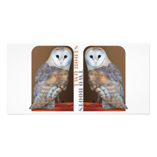 Two Hoots Picture Card