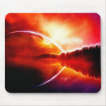Two horizons mouse pads