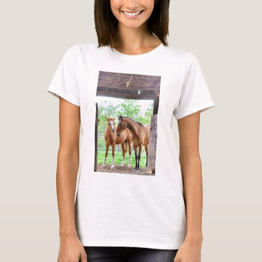 Two horse friends T-Shirt