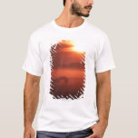Two horses at sunset T-Shirt