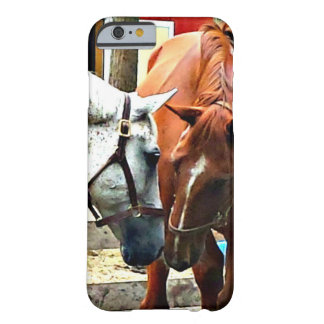 Two Horses Best Friends iPhone case