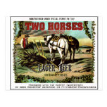 TWO HORSES CERVEJA IMAGINÁRIA POSTAL