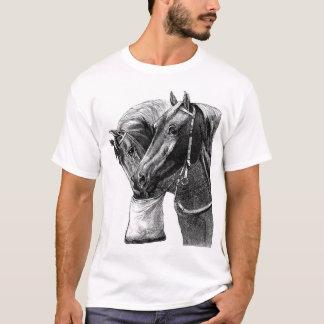 Two Horses Feeding T-Shirt