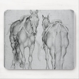 Two horses, from the The Vallardi Album Mouse Pad