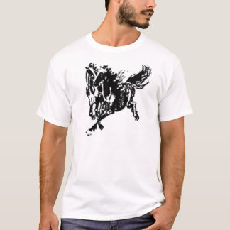 two horses galloping T-Shirt