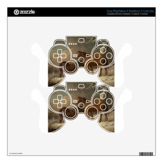 Two Horses in the Snow by George Morland PS3 Controller Skins