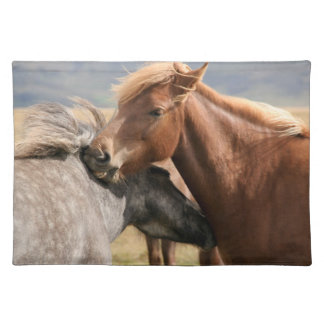 Two horses Placemat