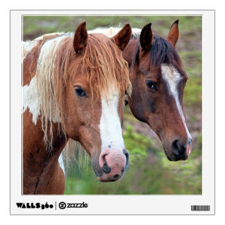Two Horses wall decal
