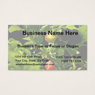 two hot peppers green foliage black back.jpg business card