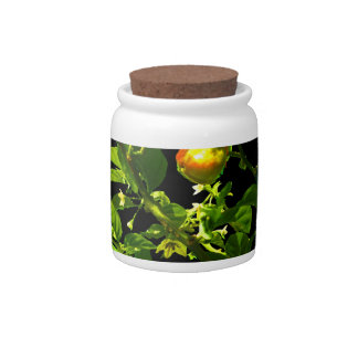 two hot peppers green foliage black back jpg candy jars