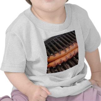 Two Hotdogs Grilling Tshirts