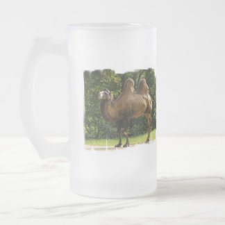 Two Humped Camel Frosted Mug