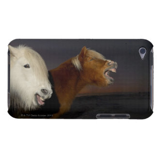 Two Icelandic horses Case-Mate iPod Touch Case