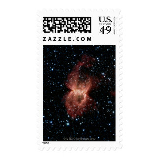 Two Illuminated Bubbles Postage