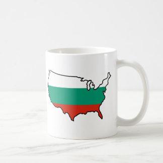 Two-Image Mug: Bulgarian in USA Coffee Mug