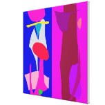 Two Imaginations Canvas Print