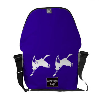 Two in One Design Backpack and Messengerbag Courier Bag