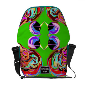 Two in One Design Backpack Messengerbag Courier Bag
