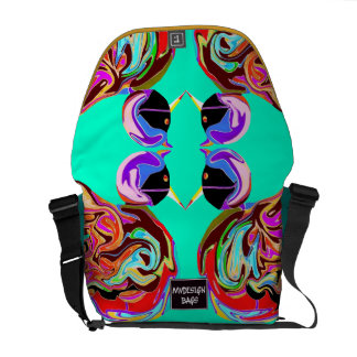 Two in One Design Backpack Messengerbag Courier Bags