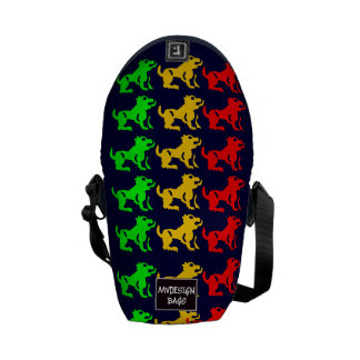 Two in One Mini Backpack Messengerbag Courier Bags
