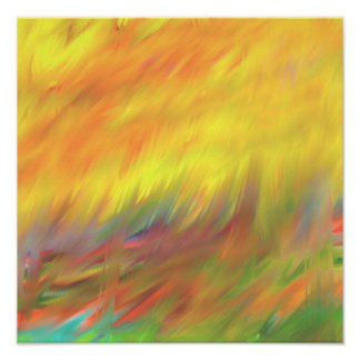 Two in One simply lively abstract 4.2 Poster