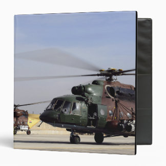 Two Iraqi Mi-17 Hip Helicopters 3 Ring Binder