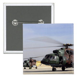 Two Iraqi Mi-17 Hip Helicopters Buttons