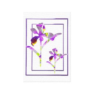 Two Irises ~ Canvas Print
